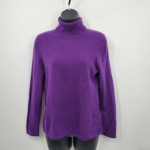 NWT Lord&Taylor purple cashmere sweater | Size S*